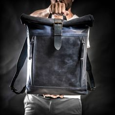 Roll Top Backpack | Backpacks | Shop :: krukgarage.com