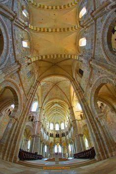 On the hill at Vezelay, France, the church came to prominence in the mid 11th century when belief spread that it held the relics of St Mary Magdalene.