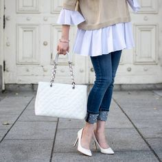 44ce3fdda06 Chanel White Caviar Grand Shopping Tote SHW - LOVE that BAG - Preowned  Authentic Designer Handbags