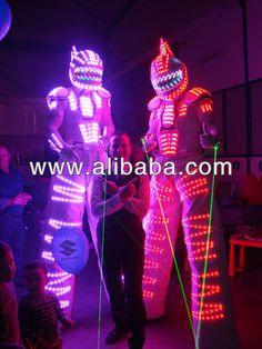 Source stilt walker led robot suits; LED dance costume; led suit. on m.alibaba.com