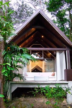 This jungle villa is tucked into the secluded mountainside. Oxygen Jungle Villas (Uvita, Costa Rica) - Jetsetter