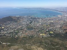 View from Table Mountain Boulder Beach, Table Mountain, Cape Town, Bouldering, South Africa, City Photo