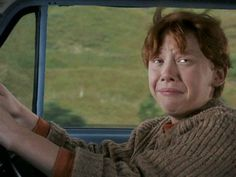 Ron driving...