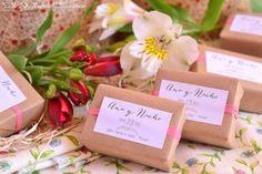 Detalles de boda jabones naturales