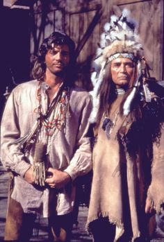 Sully and Chief Black Kettle (Nick Ramus) Native American Actors, Native American Indians, Byron Sully, Westerns, Joe Lando, Really Good Movies, Dr Quinn, Drama Tv Shows, Jane Seymour