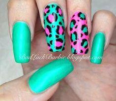 DIY Leopard Print DIY Nails Art