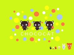 chococat and friends