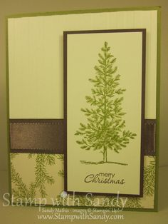 Stamp With Sandy: Lovely as a Tree for the Holidays