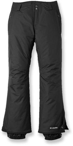 40740fd5a3a2f Columbia Female Sleek Heat Snow Pants - Women s Plus S Winter Gear