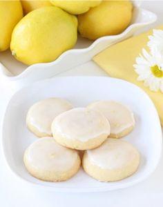 When life gives you lemons, you make Glazed Lemon Cookies.