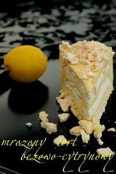 Mrożony tort bezowo-cytrynowy