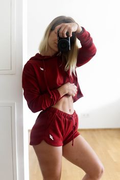Cute and cropped! Mix and match with our other ranges for the perfect outfit combo. Muscle Training, Cropped Hoodie, Mix N Match, Ranges, Activewear, Chill, Freedom, Gym Shorts Womens, Strength
