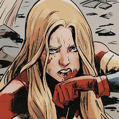 Serie Marvel, Hq Marvel, Marvel Comics Art, Marvel Girls, Comics Girls, Marvel Heroes, Dc Icons, Captain Marvel Carol Danvers, Comic Layout