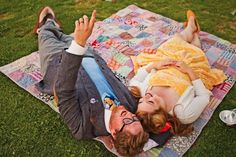 This is pretty freaking cute. UP House Anniversary Session: Lisa + Geoff