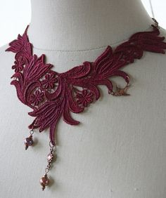 From the Gilded Dragonfly RED FINCH bohemian by GildedDragonfly, $27.00