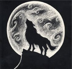 pencil drawings of wolves howling at the moon http://fashionplaceface.com/pencil-drawings-of-wolves-howling-at-the-moon/