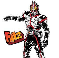 Kamen Rider Faiz, Sci Fi Characters, Fictional Characters, Kamen Rider Series, Anime Cat, Animation, Power Rangers, Illustration, Character Design