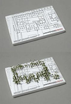 garden creative business card design
