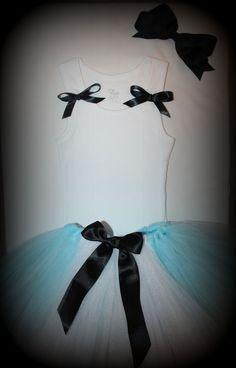 Alice in wonderland tutu dress shirt top headband outfit costume baby kids girls women adult bows birthday 1 2 3 4 5 6 7 8 9 10 11 12 small
