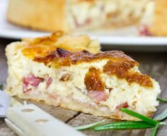 Genuine Quiche Lorraine - Cooking secrets of a French mum