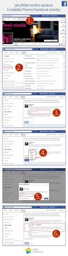 Jak přidat nového správce k ovládání firemní Facebook stránky? Více na: http://www.lepsimarketing.cz/facebook/pridani-spravce-k-firemni-facebook-strance