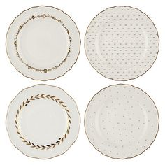 buy john lewis garden party plates set of 4 online at johnlewis com zoella