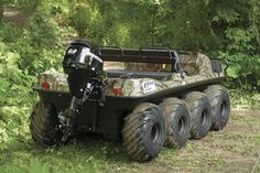 Amphibious ATV- saw it on duck dynasty- looks like soooo much fun :)
