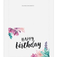 printable-watercolour-floral-birthday-card-layout
