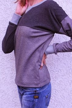 Free sewing pattern sweatshirt - not only free, but beautiful :)