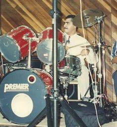 1987 live in Caguas .Premier APK / Zildjian Cymbals.