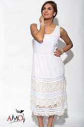 Monalisa Dress Spring 2015, Boho Chic, White Dress, Summer Dresses, Stylish, How To Make, Fashion, Moda, Summer Sundresses