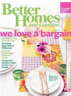 FREE 1 year Subscription to Better Homes and Gardens magazine No