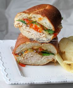 Roasted Turkey Red Pepper Jelly Sandwich2