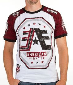 Fashion Clothes, Fashion Outfits, American Fighter, New Look, Tommy Hilfiger, Red, Mens Tops, T Shirt, Shopping