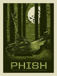 Official 6/7 & 8 Worcester Poster  Artist: John Vogl at The Bungaloo  Edition of 800  18x24