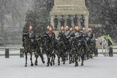 Britain under snow