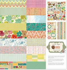 Acorn Avenue | Crate Paper | OMG, I really love this! So many patterns to put together!