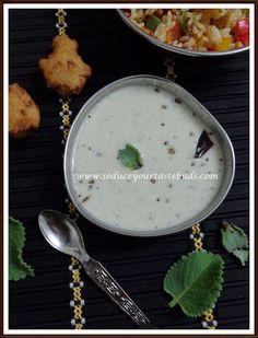 Seduce Your Tastebuds...: Doddapatre Tambli   Simple Side Dish Recipe