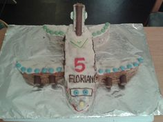 Flugzeug- Kuchen