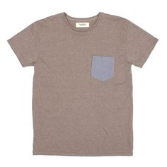 french trotters - Paul Tee Blue/Brown Gingham