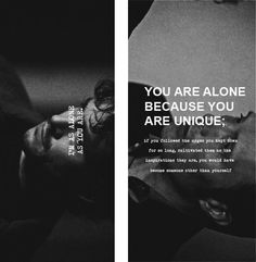 "Hannibal & Will Graham: ""You are alone because you are unique."""