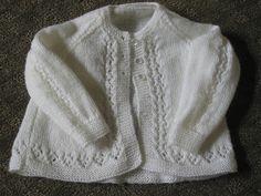 Ravelry: Beauty Baby Cardigan -Free pattern by Patons Australia