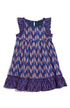 Little Marc Jacobs Dress (Toddler) - Girly ruffles and a mesmerizing print define a twirly little dress finished with a full A-line silhouette - Nordstrom