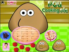 Pou Games - Pou Cooking Pie
