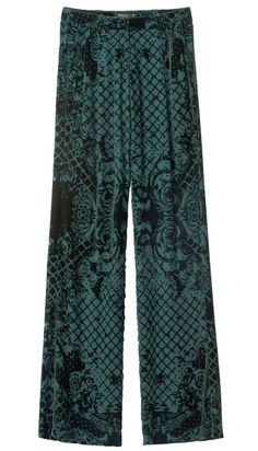 Un pantalon en velours