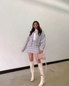 Mode Outfits, Girly Outfits, Cute Casual Outfits, Stylish Outfits, Winter Fashion Outfits, Look Fashion, Korean Fashion, Autumn Outfits, Looks Chic