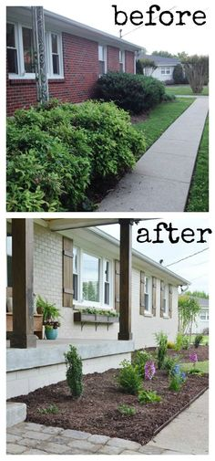 Giving your home curb appeal doesn't have to be hard! A few easy changes can have a huge impact on your home!