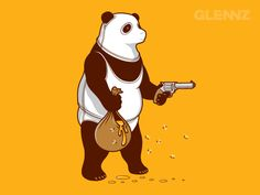 gimme all your honey... that is not a loving little panda..lol