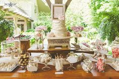 Artista Cakes Wedding Cake and Sweets bar