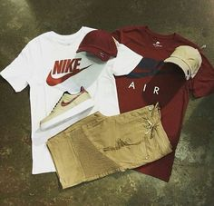 New Clothes For Teens Boys Nike 18 Ideas Dope Outfits For Guys, Swag Outfits Men, Sporty Outfits, Outfits For Teens, Boy Outfits, Nike Outfits For Men, Classy Outfits, Nike Fashion, Streetwear Fashion